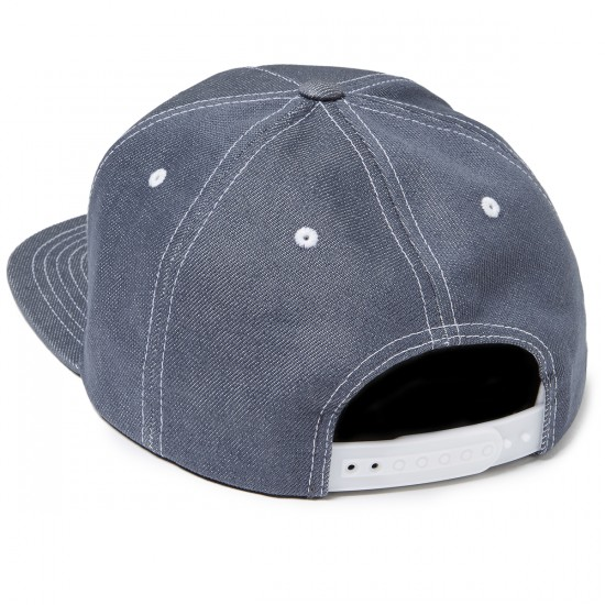 Brixton Grade Snapback Hat - Light Blue/Black