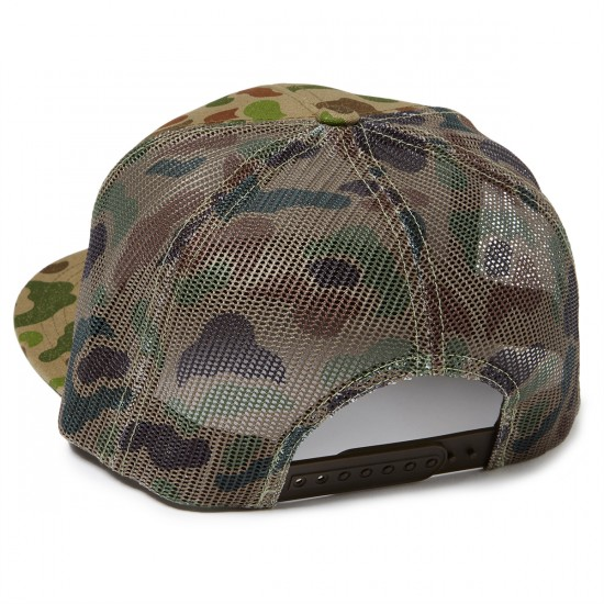Brixton Wheeler Mesh Hat - Brown/Camo