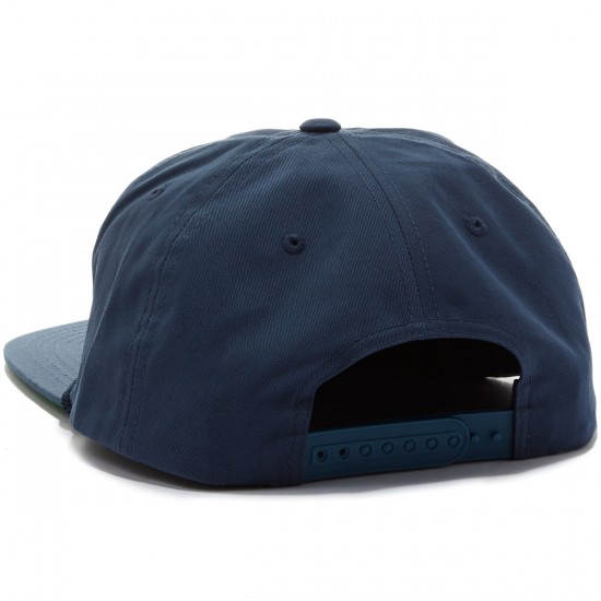 Brixton Soto Snapback Hat - Washed Navy