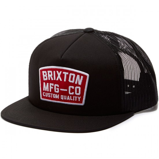 Brixton National Mesh Hat - Black