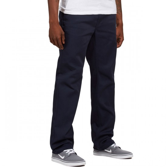 Brixton Fleet Rigid Chino Pants - Navy - 36 - 32