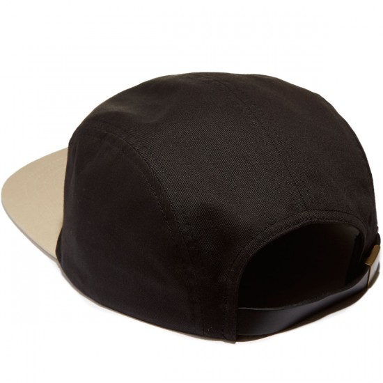 Brixton Grade 5 Panel Hat - Black/Tan
