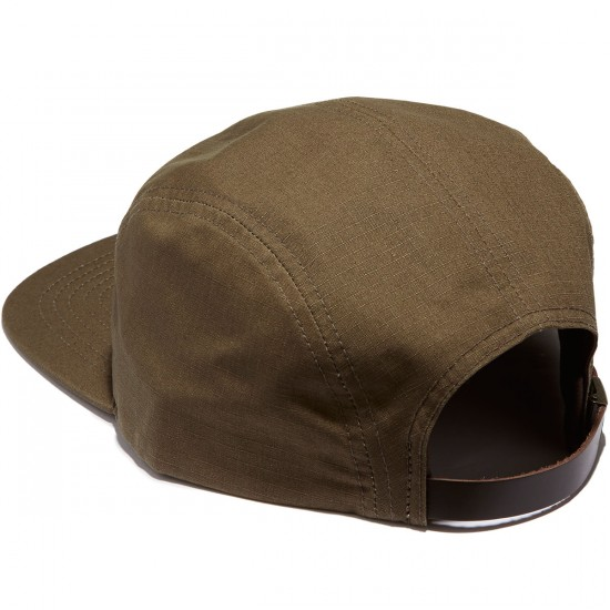 Brixton Grade 5 Panel Hat - Olive/Grey