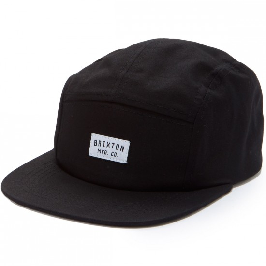 Brixton Hendrick 5 Panel Hat - Black
