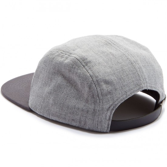 Brixton Hendrick 5 Panel Hat - Light Heather Grey
