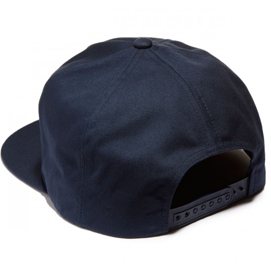 Brixton Pace HP Snapback Hat - Navy