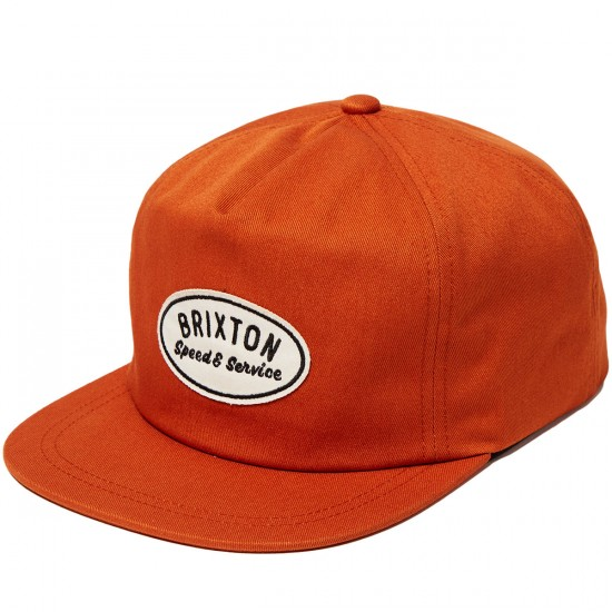 Brixton Mags Hat - Burnt Orange