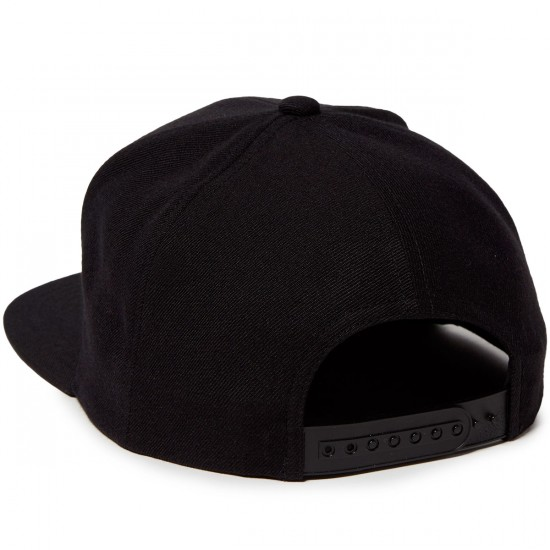 Brixton Langley Snapback Hat - Black