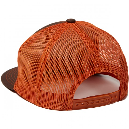 Brixton Palmer Mesh Hat - Brown
