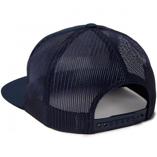 Brixton Grade Mesh Hat - Navy/Red