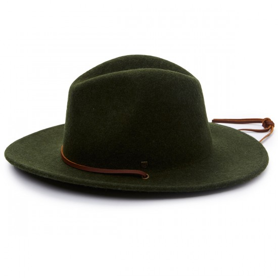 Brixton Field Hat - Heather/Green - SM