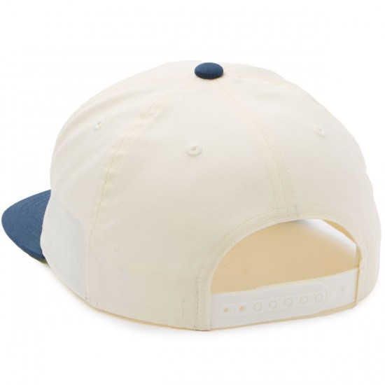 Brixton Stith Snapback Hat - Off White