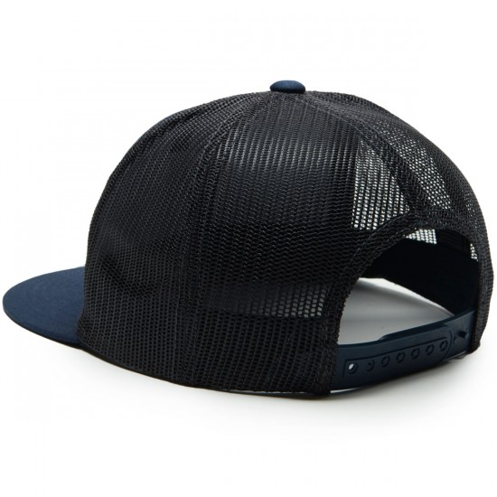 Brixton Wheeler Mesh Hat - Navy/Charcoal