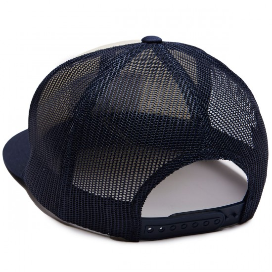Brixton X Coors Heritage Mesh Hat - Off White/Navy