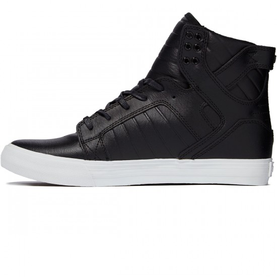 Supra Skytop Shoes - Black/White - 8.0