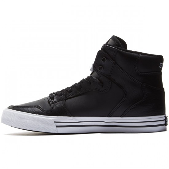 Supra Vaider Shoes - Black/White - 8.0