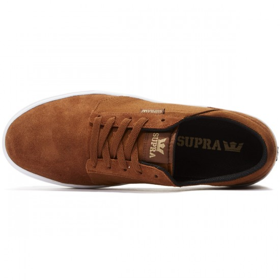 Supra Yorek Shoes - Brown/White - 8.0