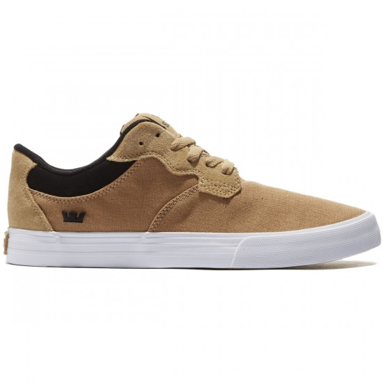 Supra Axle Shoes - Khaki/Black/White - 8.0