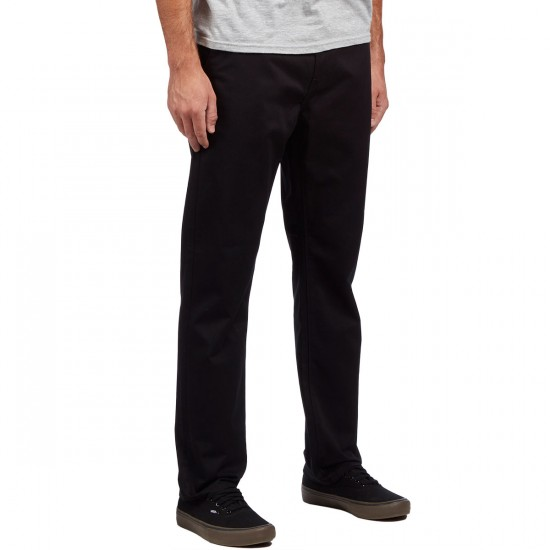 KR3W Klassic XL Rigid Chino Pants - Black - 30 - 32