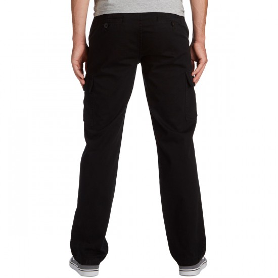 KR3W Klassic XL Cargo Pants - Black - 28 - 32