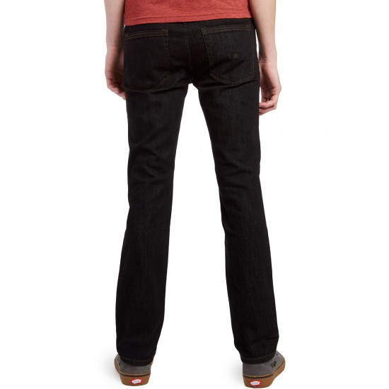 KR3W K Slim HO16 Jeans - Dark Black - 30 - 32