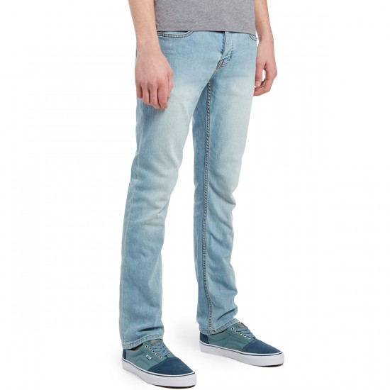 KR3W K Slim Jeans - Double Stoned - 28 - 32