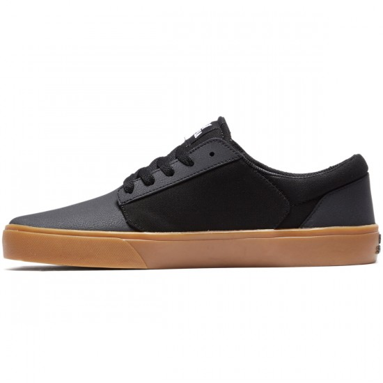 Supra Yorek Shoes - Black/Gum - 8.0