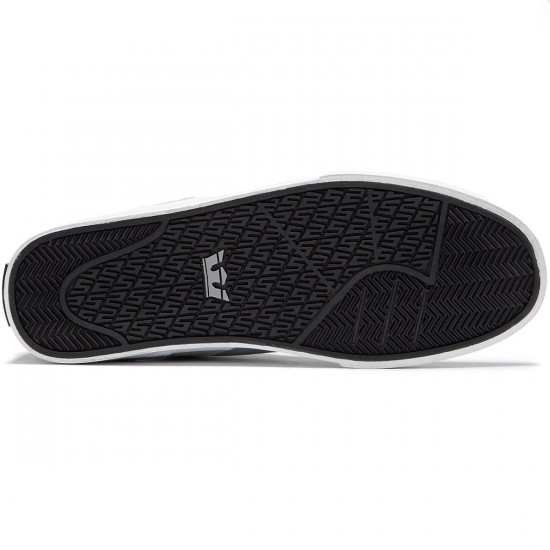 Supra Ellington Vulc Shoes - Grey/Black/White - 8.0