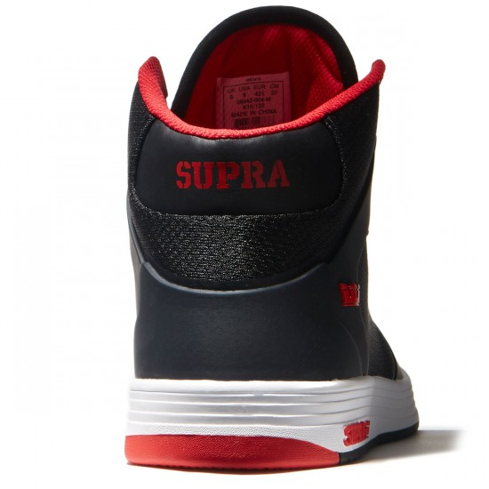 Supra Vaider 2.0 Shoes - Black/Red - 8.0
