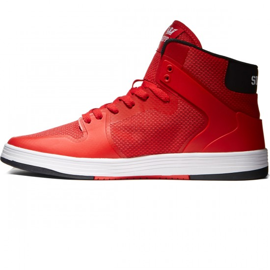 Supra Vaider 2.0 Shoes - Red/White - 8.0