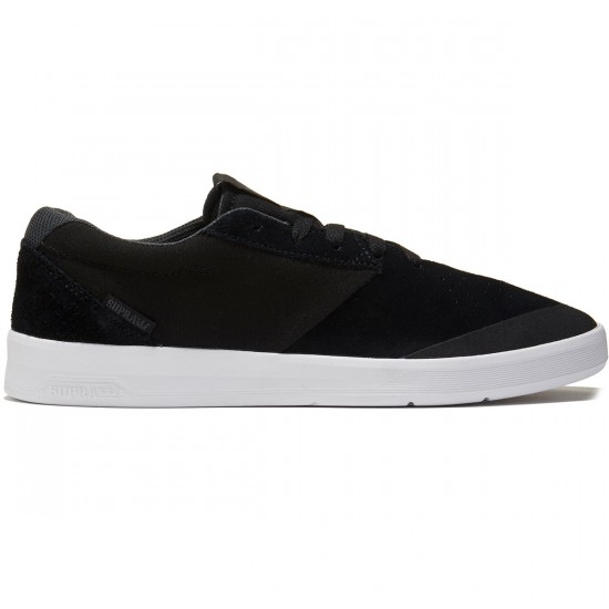 Supra Shifter Shoes - Black/White - 8.0