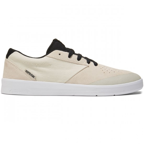 Supra Shifter Shoes - Off White/White - 8.0