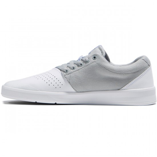 Supra Shifter Shoes - White/Light Grey