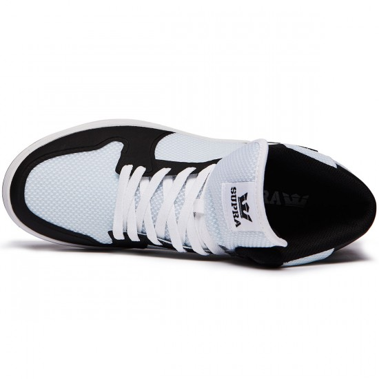 Supra Vaider 2.0 Shoes - White/Black - 8.0