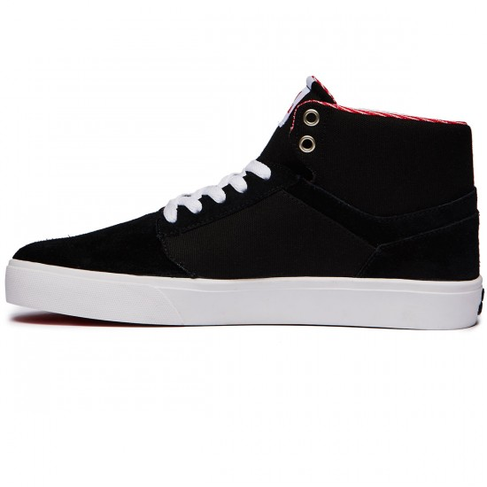 Supra Yorek High Shoes - Black/White - 8.0