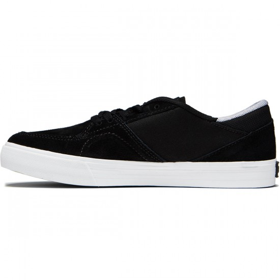Supra Melrose Shoes - Black/White - 8.0