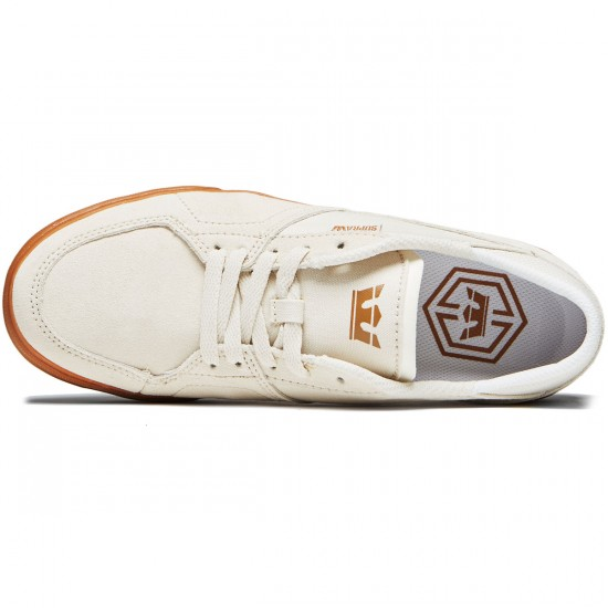 Supra Melrose Shoes - White/Gum - 8.0