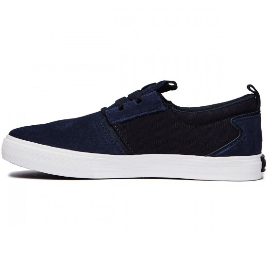 Supra Flow Shoes - Navy/White - 8.0