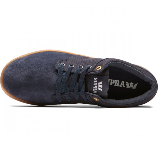 Supra Chino Court Shoes - Midnight/Gum