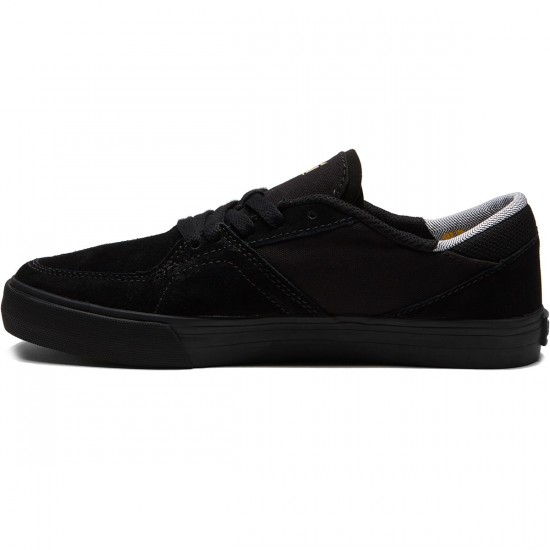 Supra Melrose Shoes - Black/Black/Gum - 8.0