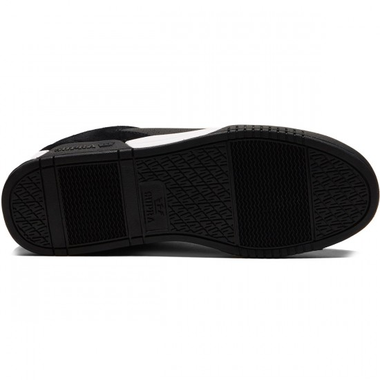Supra Ellington Shoes - Black/White/Black - 8.0