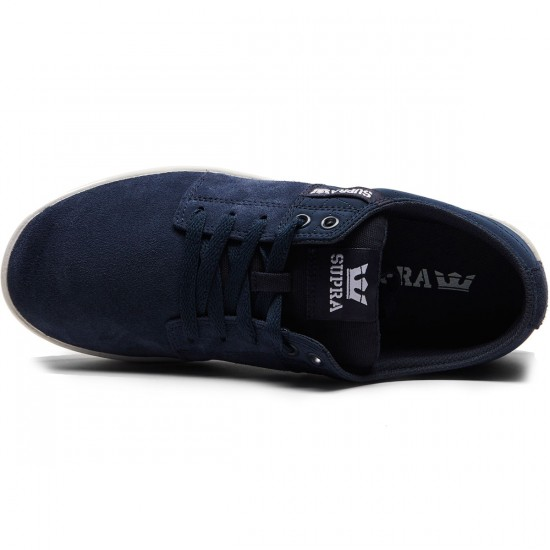 Supra Stacks II Shoes - Midnight/White - 8.0