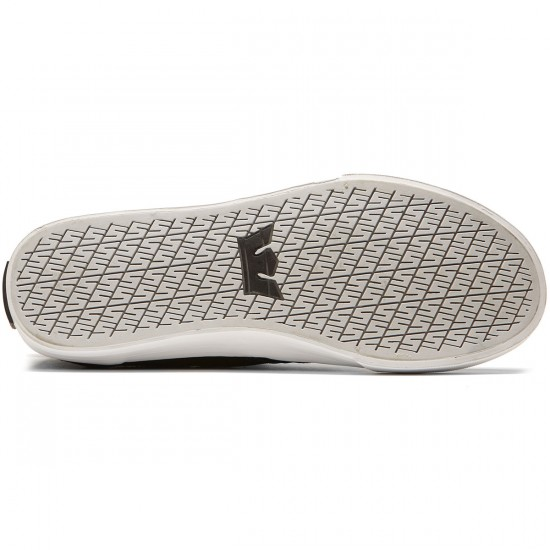 Supra Kensington Shoes - Black/White - 8.0