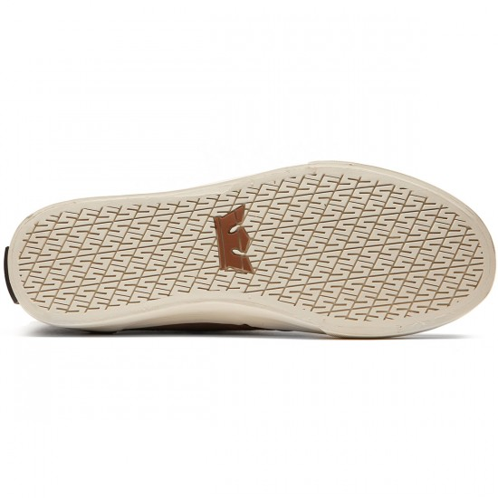 Supra Kensington Shoes - Brown/Bone - 8.0