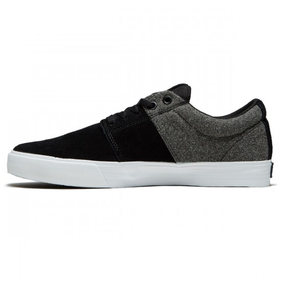 Supra Stacks Vulc II Shoes - Black/White/Black