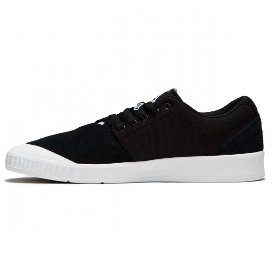 Supra Shifter Shoes - Black/White/White - 8.0