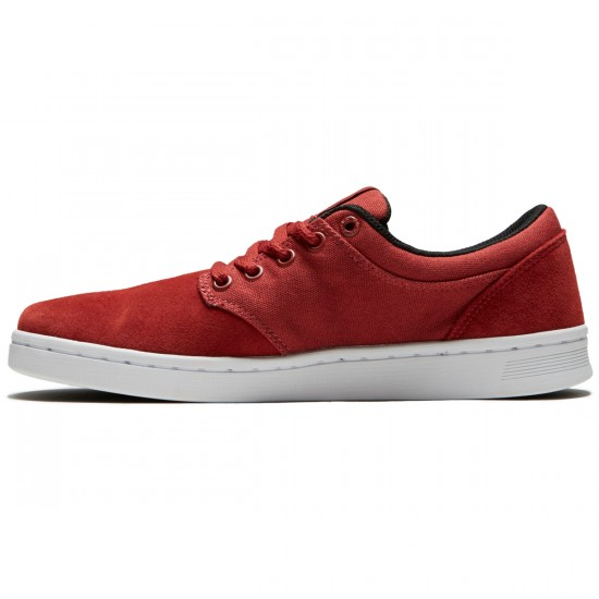 Supra Chino Court Shoes - Cayenne/White - 8.5