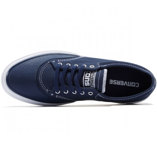 Converse Crimson OX Canvas Shoes - Navy/White/Natural - 8.0