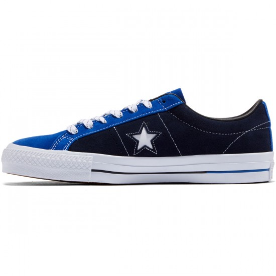 Converse One Star Pro Shoes - Obsidian/Blue/Black - 8.0