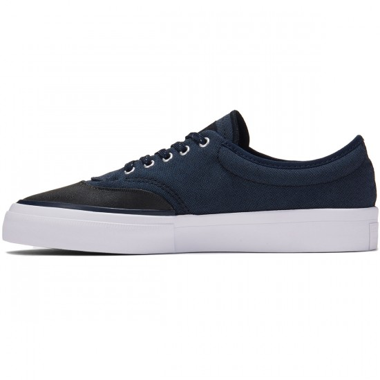 Converse Crimson OX Canvas Shoes - Navy/Black/Obsidian - 8.5